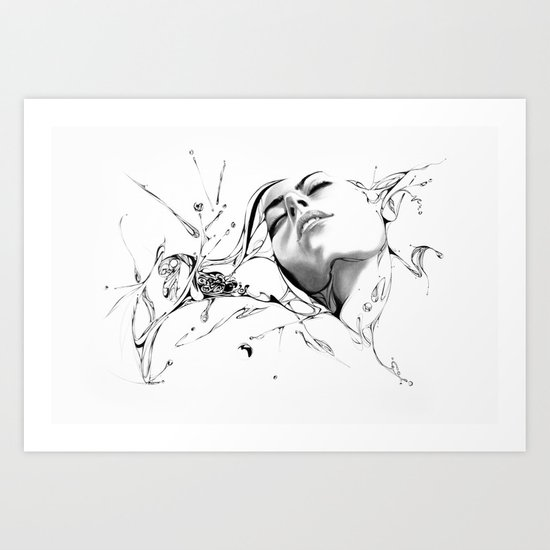 Line 1 Art Print