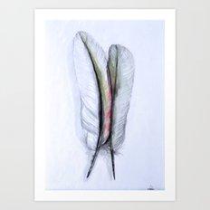 two Art Print