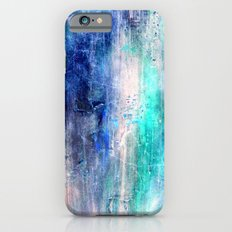 Winter Abstract Acrylic Textured Painting iPhone 6 Slim Case