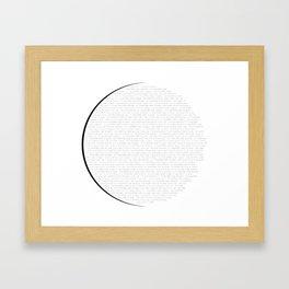 I Survived The Solar Eclipse. 2017 Framed Art Print