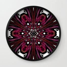 Hemoglobin Hexagon Wall Clock