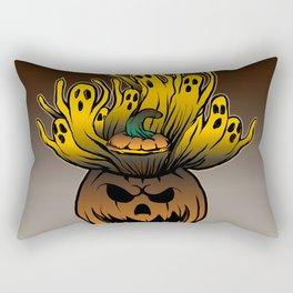 Classic character of ghost and pumpkin Rectangular Pillow