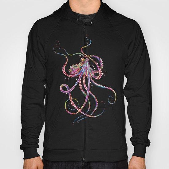 Reverse Drunk Octopus Hoody