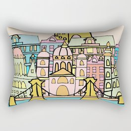 Budapest during the day Rectangular Pillow