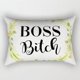 Boss Bitch Rectangular Pillow