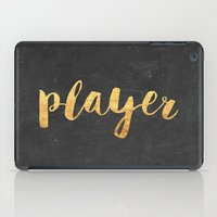 2pac iPad Cases featuring Player by Text Guy