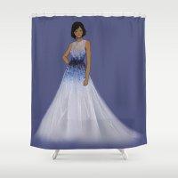 korra Shower Curtains featuring Korra by TrizhaMI