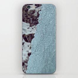 Ice Waterfall iPhone Skin