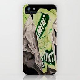 Minty Fresh iPhone Case