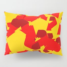 Recycle red star Symbol of new communism Pillow Sham