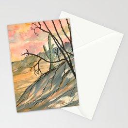 Southwestern Art Desert Painting Stationery Cards