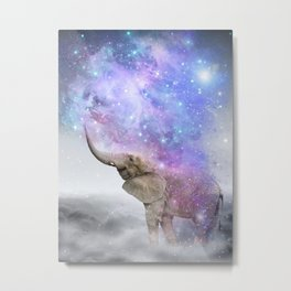 Don't Be Afraid To Dream Big • (Elephant-Size Dreams) Metal Print
