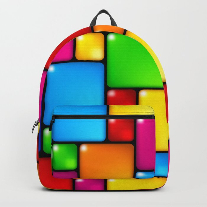 Colors and squares Rucksack