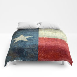 State flag of Texas, Lone Star Flag of the Lone Star State Comforters