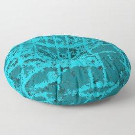 Blue Hip Hippo Ray Floor Pillow