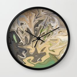 Shattered Earth Wall Clock