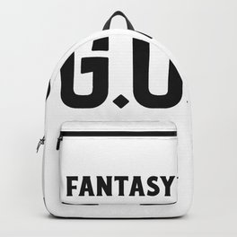 Fantasy Football GOAT Backpack