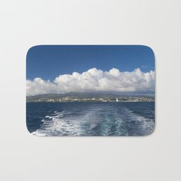 Caribbean Island Panorama Bath Mat