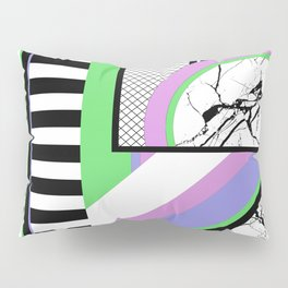 AMPS Deux - Abstract, Marble, Pastel, Stripes Pillow Sham