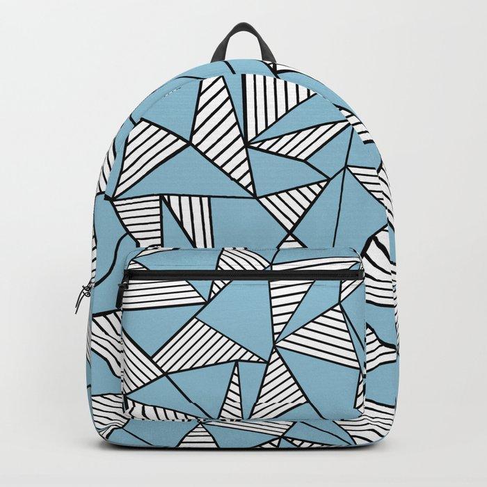 Ab Blocks Blue #2 Backpack