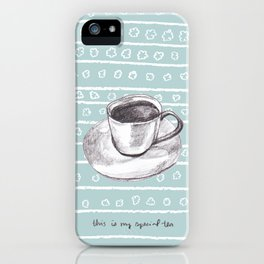 My Special Tea iPhone Case
