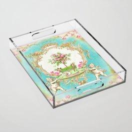 French Baroque Patisserie Tea Acrylic Tray