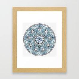 Mandala: Tropics Intertwined Framed Art Print
