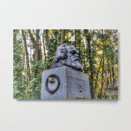 Karl Marx Memorial Metal Print