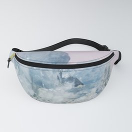 Blue Crystal Fanny Pack