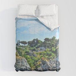 Taormina, Sicily II Comforters