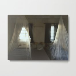 Mosquito Nets in the Bahamas Metal Print
