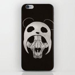 Panda Skull iPhone Skin
