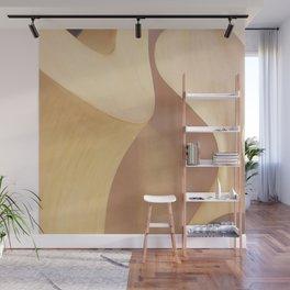 Gaudi Casa Mila Curves - Neutral Abstract Aesthetics Wall Mural