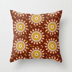 Now - Kaleidoscope  Throw Pillow