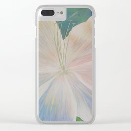 Give Peace A Chance Clear iPhone Case