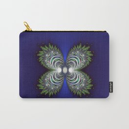 Fractal Butterfly Carry-All Pouch