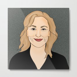 Meryl Streep Metal Print