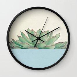 Succulent Dip III Wall Clock