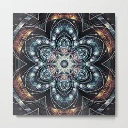 Mandalas from the Voice of Eternity 4 Metal Print