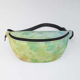 Colorful watercolor painting Fanny Pack
