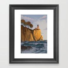 Lighthouse 4 Framed Art Print
