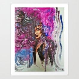 Ezella Art Print