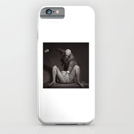 The Cane - Nude woman whipped #A3208 iPhone Case