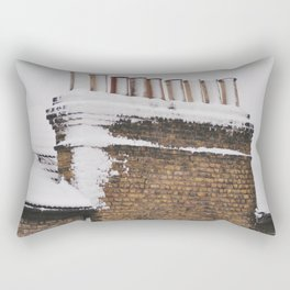 Snow Chimney Sweeps Rectangular Pillow