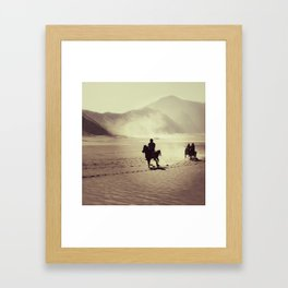 savana, bromo Framed Art Print