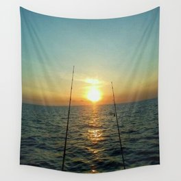 FISHING Wall Tapestry