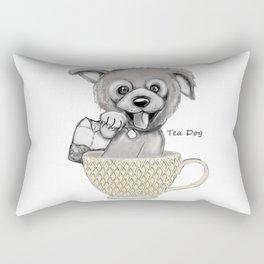 Tea Dog Rectangular Pillow