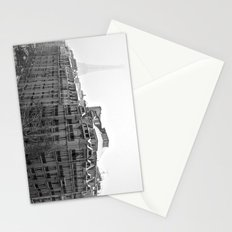 Paris Snow Stationery Cards