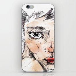 Sara Dane iPhone Skin