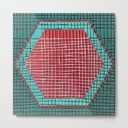 Left - hexagon Metal Print
